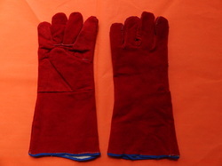 Heavy Quality Leather Hand Gloves