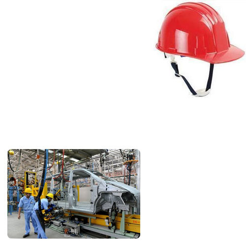 Safety Helmets For Worker Industry