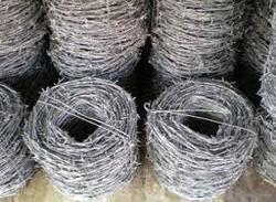 Steel Barbed Wire Fencing