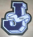 J Custom Chenille Patch
