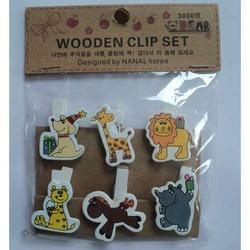 Book Marks Wooden Animal