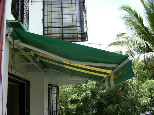 Retractable Awning Rs 160 Square Feet Shree Services