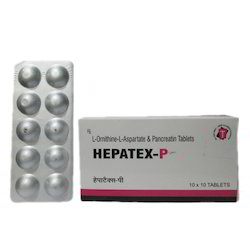 L- Ornithine L Aspartate Pancreatin Tablets