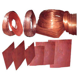 Copper and GI Plates, DCC Wire And Earthing Materials