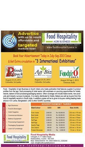 Trade Magazine for Food & Hotel Industry - Food Hospitality