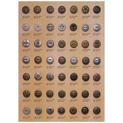 Kurta Decorative Metal Button