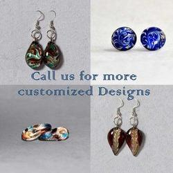 Murano Boro Glass Flameworking Earrings - Various Designs