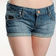 Denim shorts girl pics