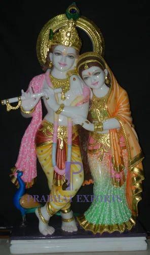 Marble Radha Krishna Statue Exporter From Jaipur