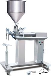 Semi Auto Double Nozzle Paste Filler