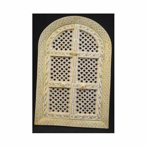 Camel bone jharokha kuber art n craft manufacturer in for Skilled craft worker makes furniture art etc