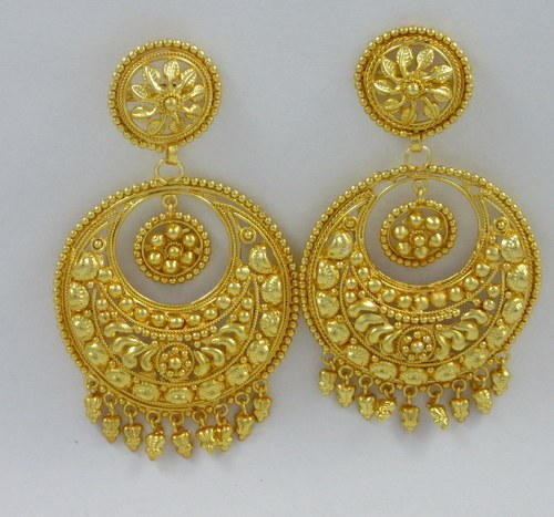 gold plated chand bali sparkle world wholesale trader in