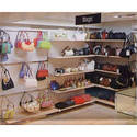 Fashion Accessory Display Shelves
