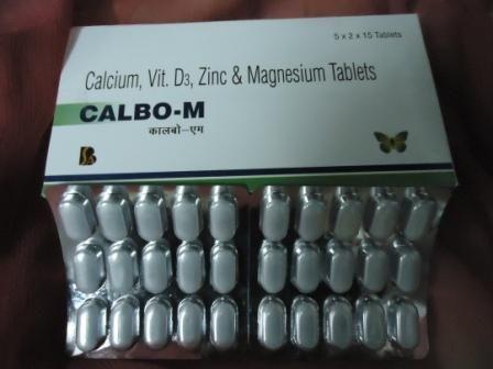 Calcium Citrate Magnesium Zinc Vitamin D3 Tablets In India The