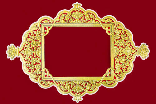 14x10 Inches Four Corner Wooden Frame Equality Bikaner Id