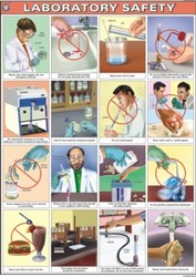 Laboratory Safety For Chemistry Lab Display Chart