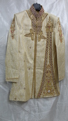Costumized Multi Color Embroidered Indo Western Sherwani