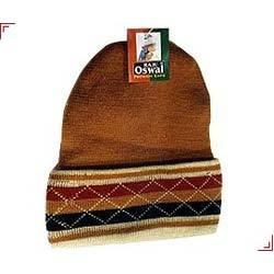 Acrylic Mix colour Mens Round Caps, Size: Free Size