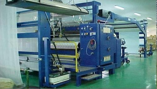 Ptfe Membrane And Fiberglass Fabric Laminating Machine