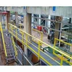balcony and Stairs Panel FRP Handrail, For industrial