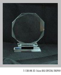 16 cm Crystal Trophies