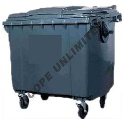 Industrial Four Wheel Dustbin