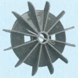 Plastic Fan Suitable For Siemens/Bharat Bijlee 71 Frame Size