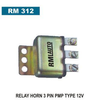 Horn Relay 3 Pin PMP Type 12 Volt - R.M Industries, New ...