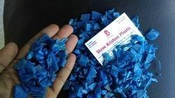 HDPE Blue Drum Scrap - Grinding