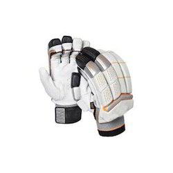 Leather Bent Cricket Batting Gloves