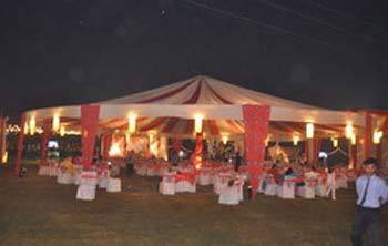 Tent House Decoration & Wedding Tent Decoration Service in Narhi Lucknow Royal Tent ...