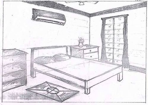 Bedroom Drawing Living Room Drawing Coaching Classes