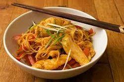 Chilli Garlic Chicken Soft Noodles