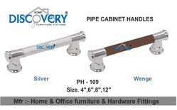 Wenge Pipe Cabinet Handle