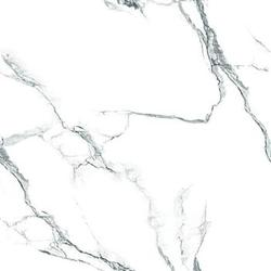 White Statuario Vitrified Floor Tiles