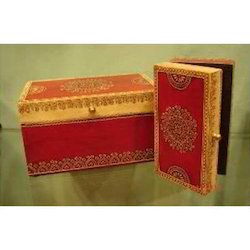 Hand Painted Wooden Gift Box