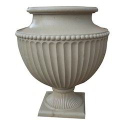 Marble Carving PlanterCarving Stone Planter