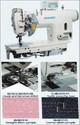 High Speed 1 Needle Bar 2 Needle Lockstitch Machine