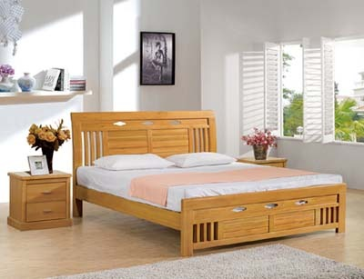 Simple Bed At Rs 18000 Piece Teak Bed Id 5648056848