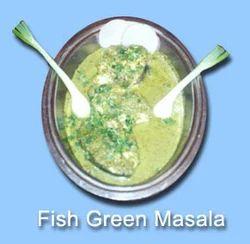 Fish Green Masala