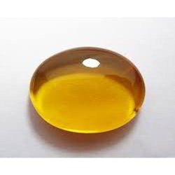 Astro Gems Impex Oval Amber Stone