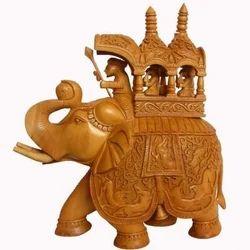 Wooden Ambabari Elephant