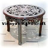 Mother of Pearl Round Table