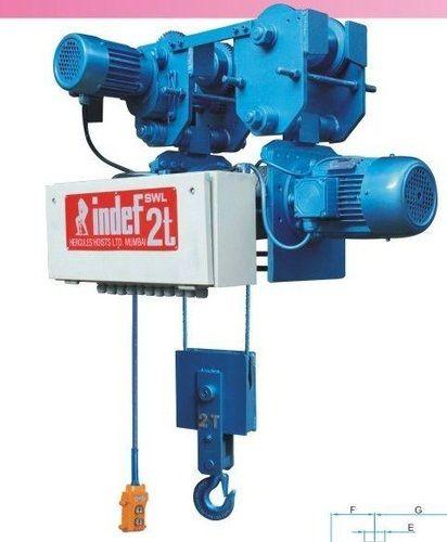 Indef Make Wire Rope Hoist, WRH-I, Rs 211780 /number, GR Cranes ...