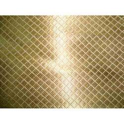 Golden Silver Brocade Fabric