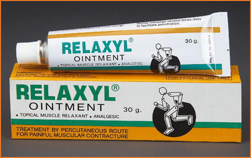 Pharmaceutical Medicines Relaxyl Ointment Manufacturer