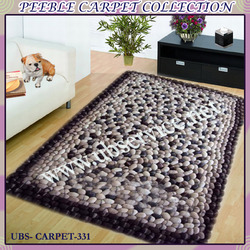 Peeble Carpet Design