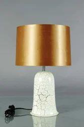 Crackle Design Lamp