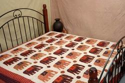 Elephant Bed Cover (Gudri) Hand Made