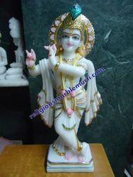 Shree Krishna Marble Statue